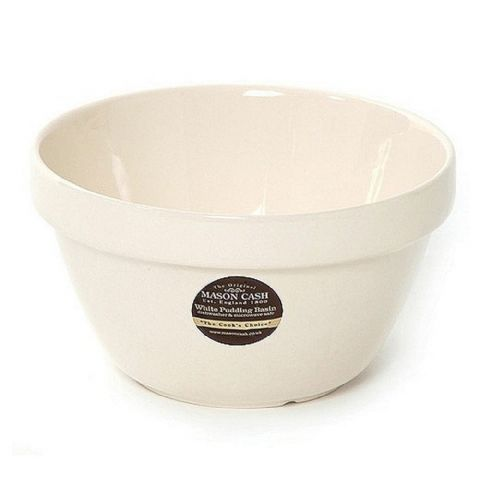 Mason Cash White Pudding Basin Bowl 17cm Size 30